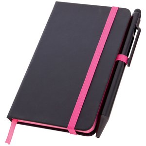 Edge Notebook & Stylus Pen - A5 - Full Colour Image 1 of 9