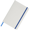 View Extra Image 3 of 3 of Spectrum Medium Notebook - White - Debossed