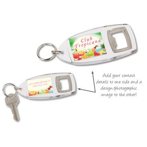 Bottle Opener Keyring - Full Colour Image 1 of 1
