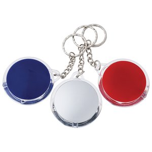 Round Pocket Keyring Torch