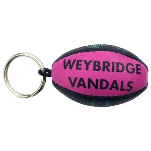 Rugby Ball Keyring Image 1 of 2