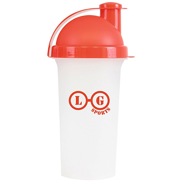 Protein Shaker Canada: 4imprint.ie: 600ml Plastic Protein Shaker 501903