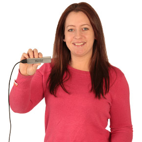 Kristie with Volt Power Bank Charger